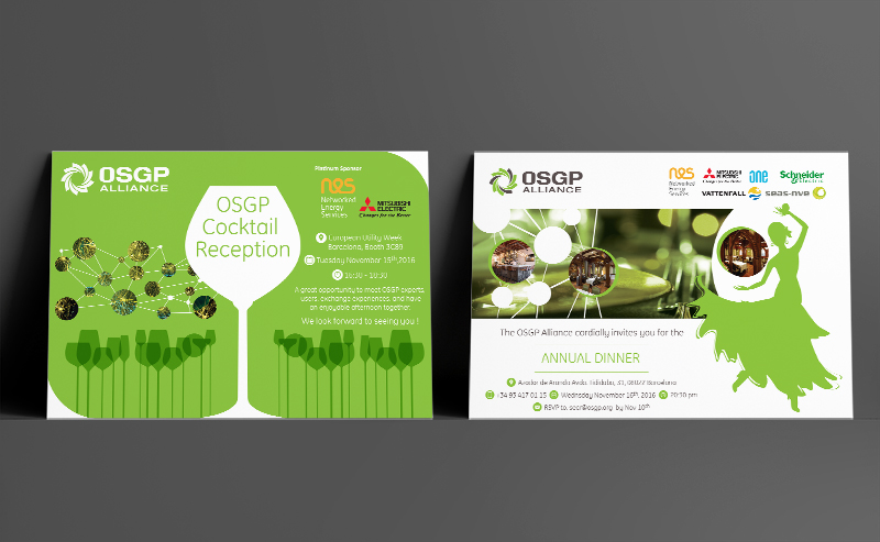 OSGP  Alliance - Invitation Cards