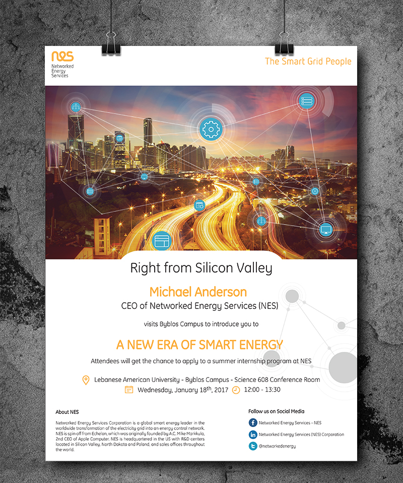 Networked Energy Services - NES Poster
